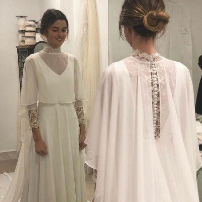 vestido novia unico