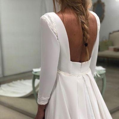 vestidos novia maria baraza